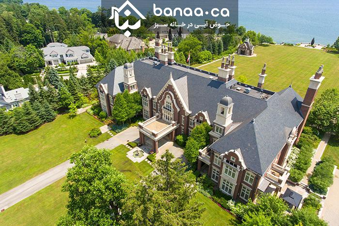 Photo of فقط اگر بسیار پولدار هستید این مطلب را بخوانید؛ گرانترین خانه کانادا در اوکویل برای فروش