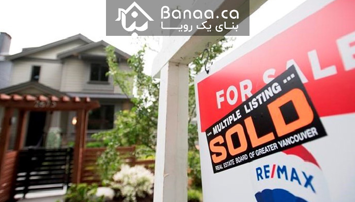 تعداد معاملات مسکن در ماه جولای در کانادا در ۴۰ سال گذشته بیسابقه بوده است
