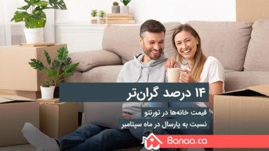 Photo of قیمت خانهها در تورنتو ۱۴ درصد نسبت به پارسال گرانتر شده است؛ آمار سپتامبر