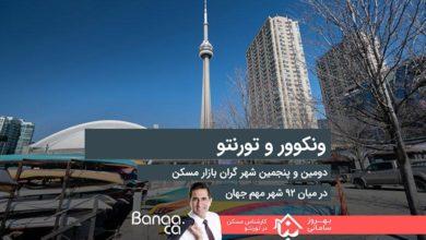 Photo of ونکوور دومین و تورنتو پنجمین شهر گران بازار مسکن در میان ۹۲ شهر مهم جهان